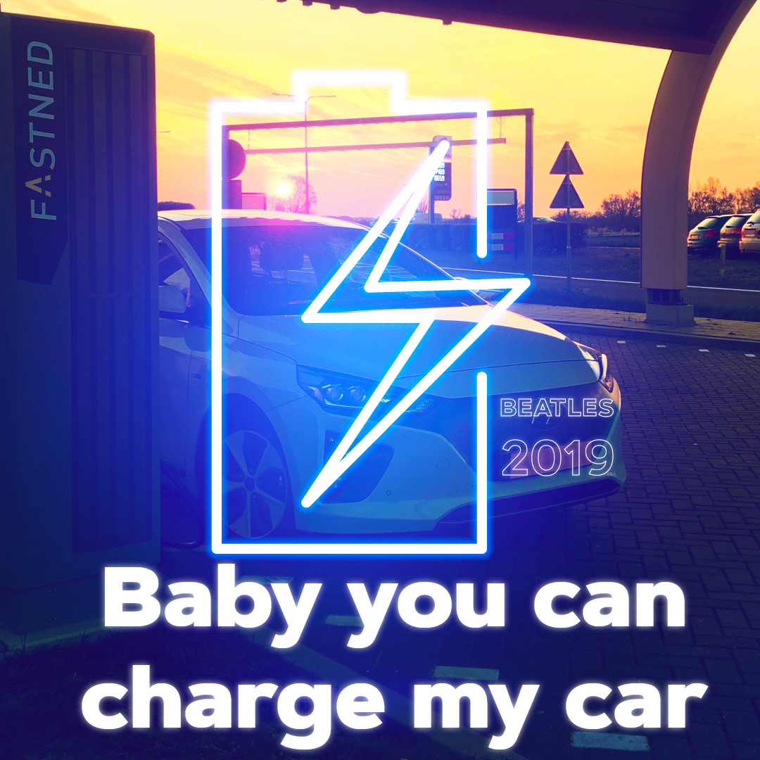 Baby you can charge my car